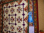 2007 Quilt Show - F) Pieced Lap Machine Quilted