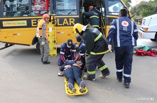 simulação de emergência semana dos bombeiros SG 004