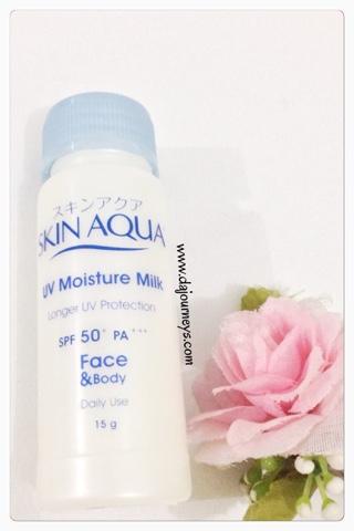 Review Skin Aqua UV Moisture Milk