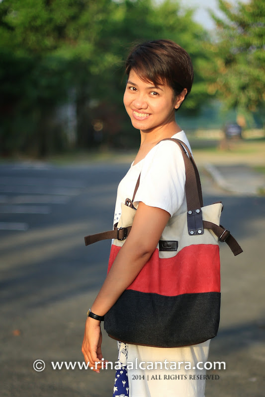 single-shoulder Canvas Leisure Bag