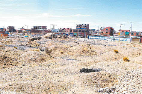 Barrios de El Alto, Bolivia