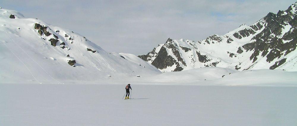 Crust Ski To Reed Lakes - P5190056.JPG