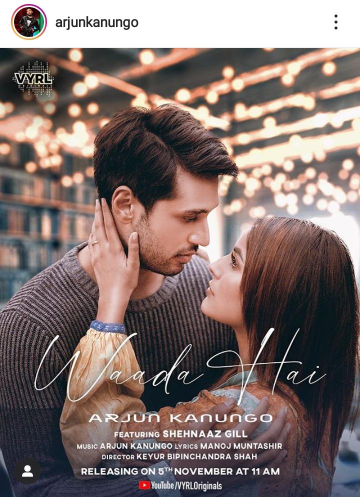 """Arjun Kanungo's New Song """"Waada Hai"""""""