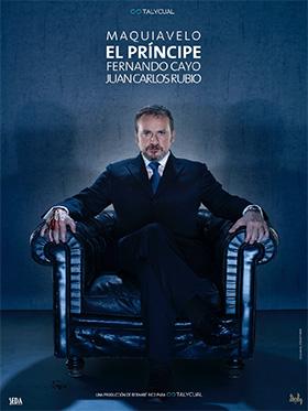 El príncipe de Maquiavelo, interpretado por Fernando Cayo, en los Teatros del Canal