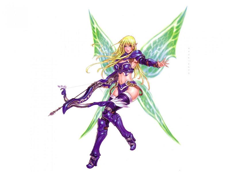 Sweet Faerie Girl, Fairies 1