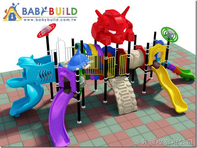 BabyBuild 太空主題風格遊具