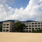 附属住吉中学校風景