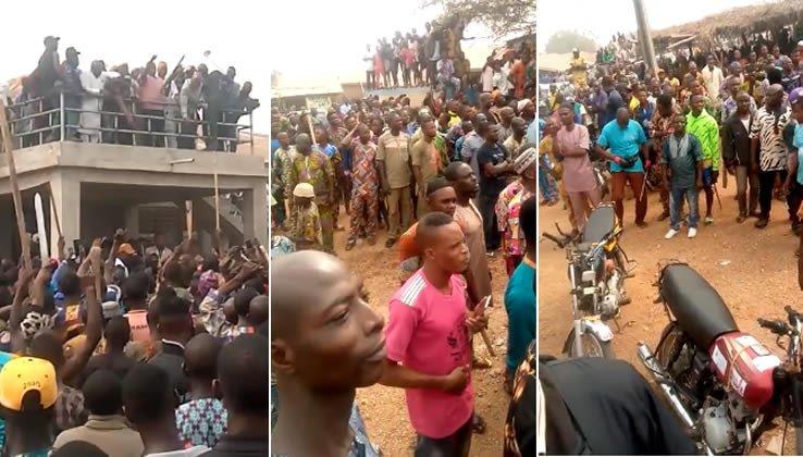 Herdsmen & Sunday Igboho's Supporters Clash In Oyo; Two Feared Dead