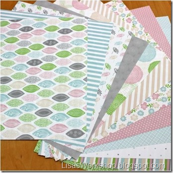 Pretty in Pastel Paper from CM