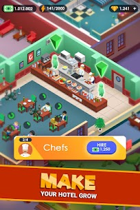 Hotel Empire Tycoon MOD APK 1.7.4 (Unlimited Money) 4