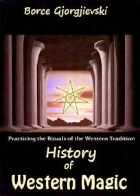 Cover of Borce Gjorgjievski's Book History of Western Magic