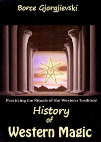 Cover of Borce Gjorgjievski's Book History of Western Magic