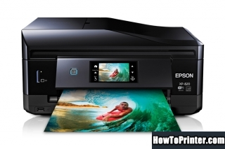 Reset Epson XP-820 Waste Ink Counter overflow error