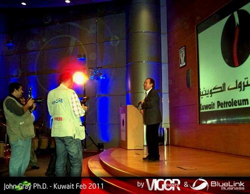John Gray Phd Kuwait Feb 2011 Speaks, Dr Gray