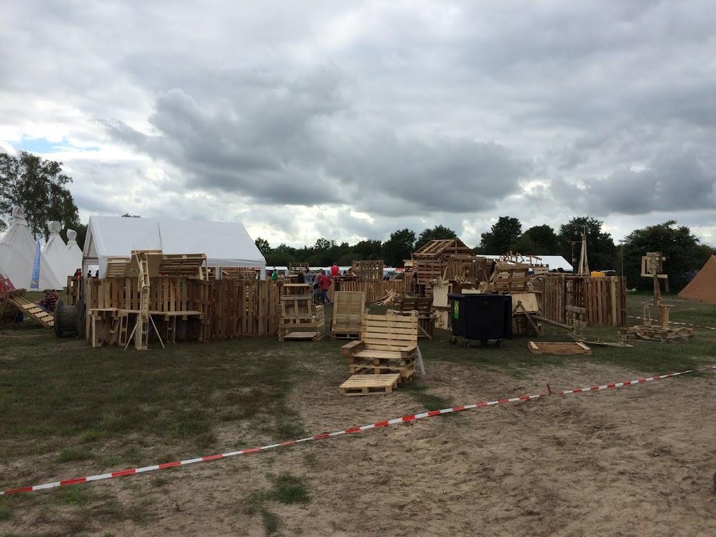 Een heus huttenkamp