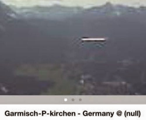 Ufo Sighting Of Cigar Craft Over Kirchen Germany On April 10 2011 Photos