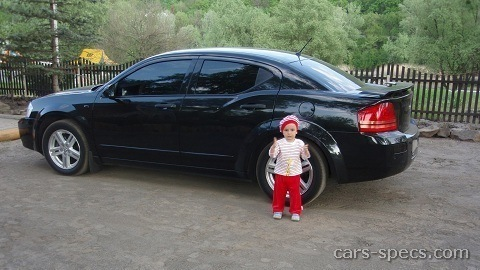 2008 dodge avenger sedan specifications pictures prices. Cars Review. Best American Auto & Cars Review