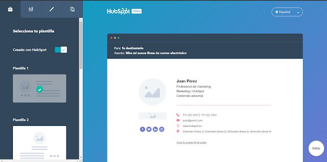Hubspot Email Signature Generator