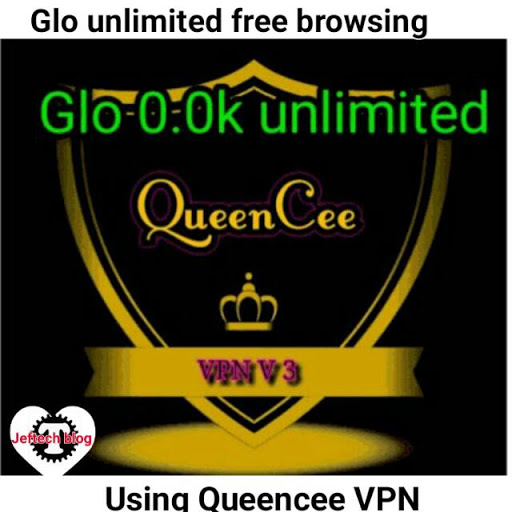 Glo Unlimited Free Browsing Cheat Using Queencee Vpn V8 2017.