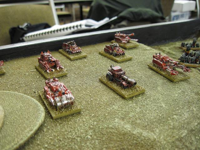 Eric's Blitz Brigade idling at the baseline.