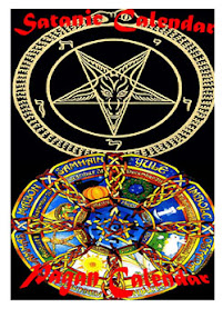 Cover of Anonymous's Book Satanic Pagan Calendars
