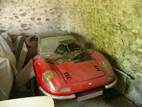 Abandoned Ferrari Dino
