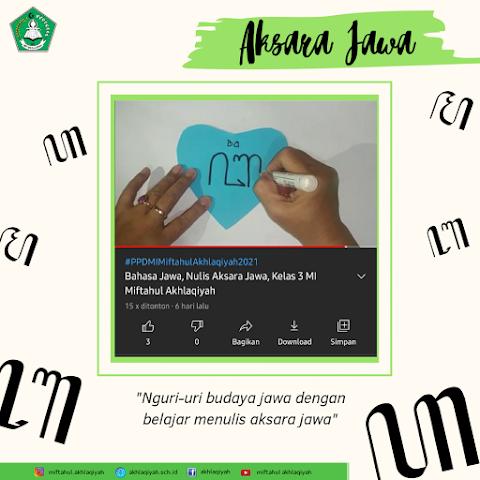 Yuk, Belajar Menulis Aksara Jawa