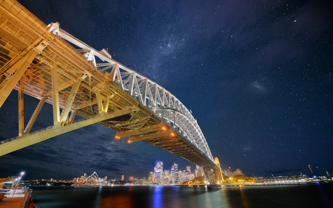 Down Under Stars by Dominic Kamp1