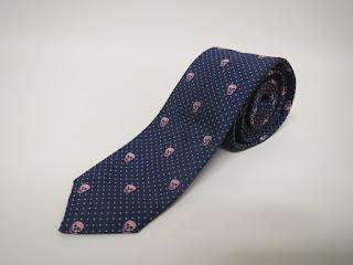 Alexander McQueen Skull Skinny Tie