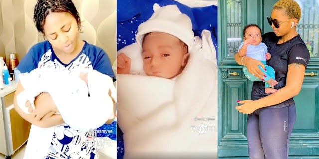 Regina Daniels Shares Throwback Hospital Video Of The Day She Gave Birthday To Her Son To Celebrate His 1st Birthday [Video]