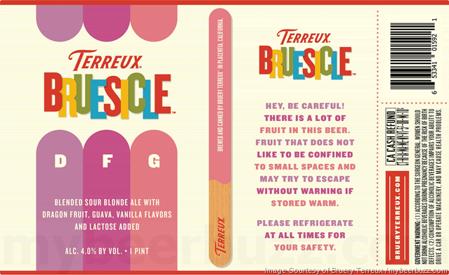 Bruery Terreux Adding Bruesicle DFG 16oz Cans