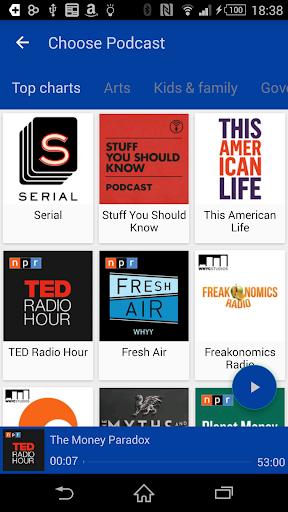 Podcast Player - PodDrive