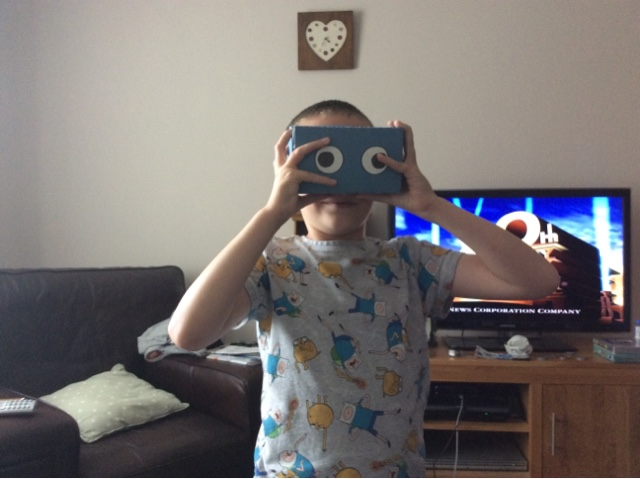 DisabilityTechDad: Virtual Reality for £3?