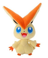 Pokemon Plush Victini Tomy