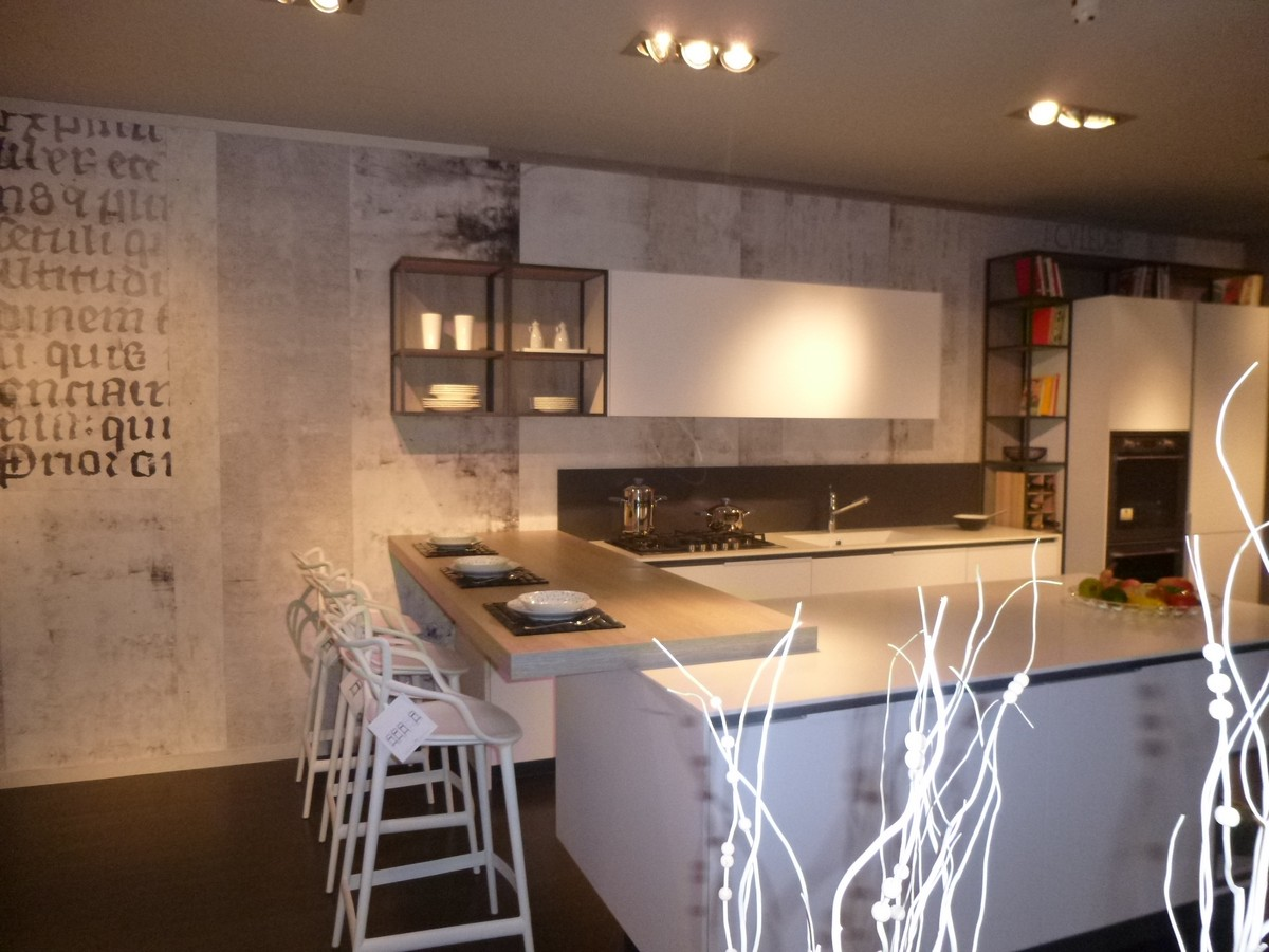 Outlet Cucine Con Isola. Gallery Of Cucina Ernestomeda Mod One ...