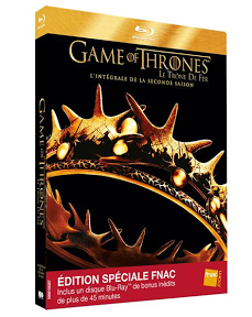 DVD Blu-Ray Game of Thrones saison 2