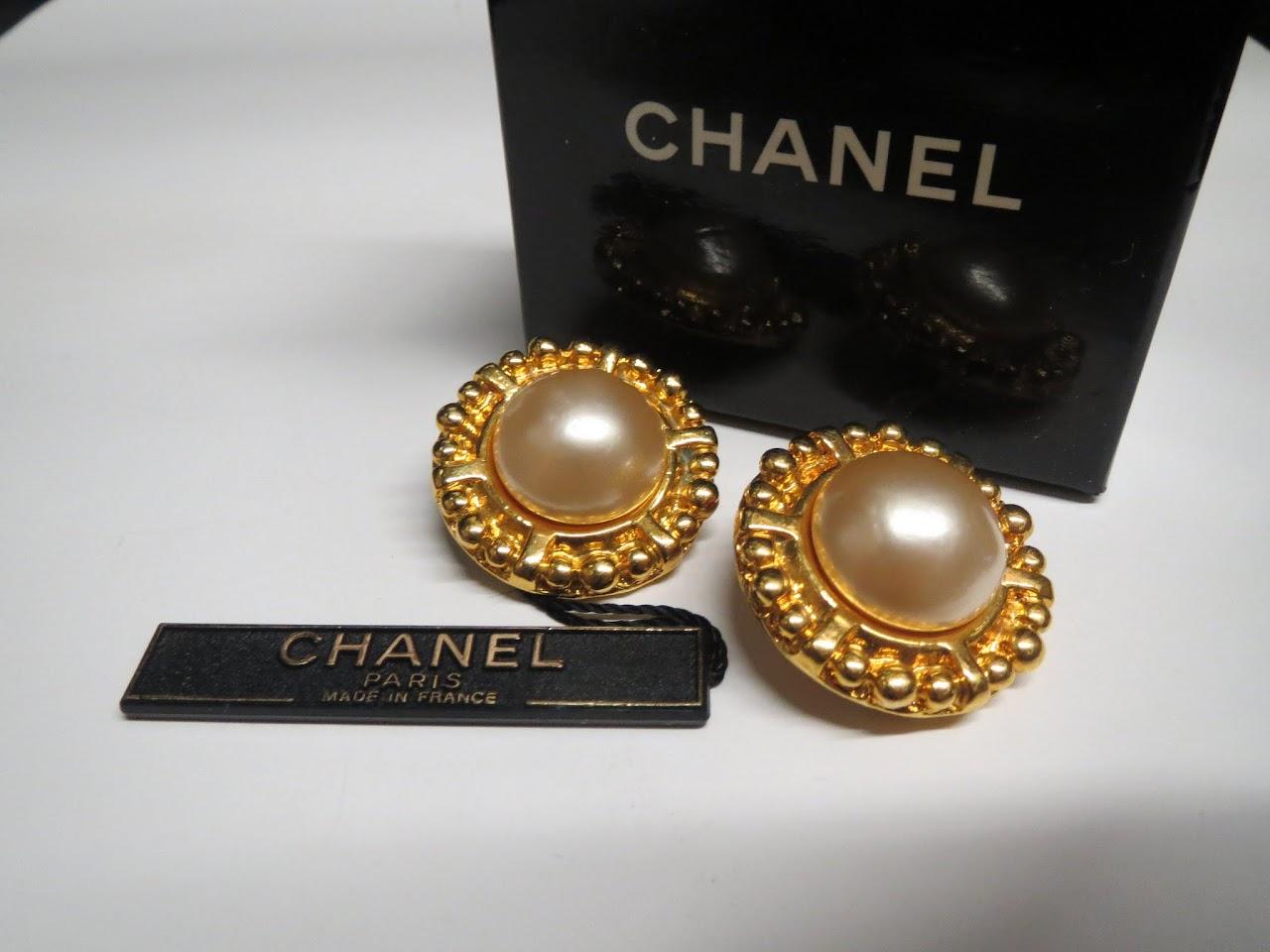 Chanel Costume Earrings