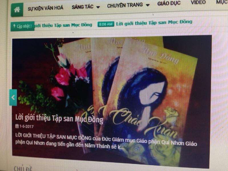 Khai trương website MỤC ĐỒNG