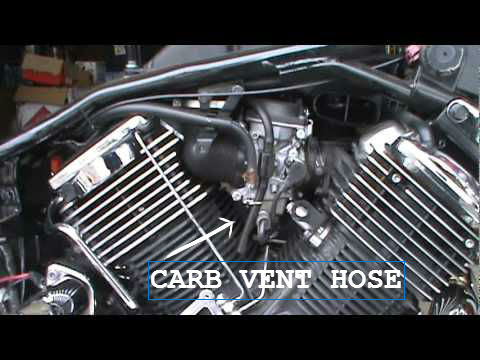Wind Bogging Engine Carb Vent Hose V Star 1100 Wiki