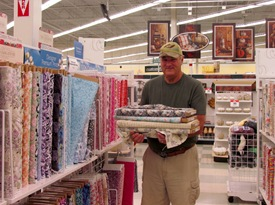 1608054 Aug 11 Terry In Shopping Pose At Joanns