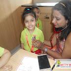 Health Checkup for JR.KG Section at Witty World, Bangur Nagar