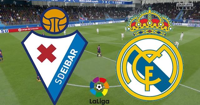 مشاهدة مباراة ايبار وريال مدريد بث مباشر