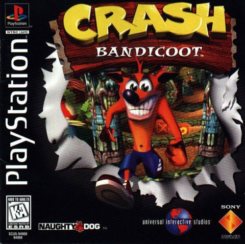 Crash Bandicoot Cover Playstation 1