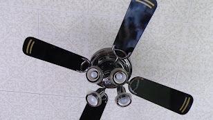 NECのシーリングファンライト