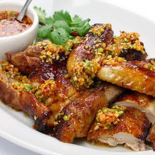 Cantonese Chicken Wings.