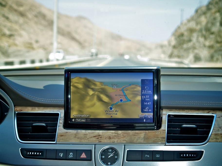 Audi navigation system