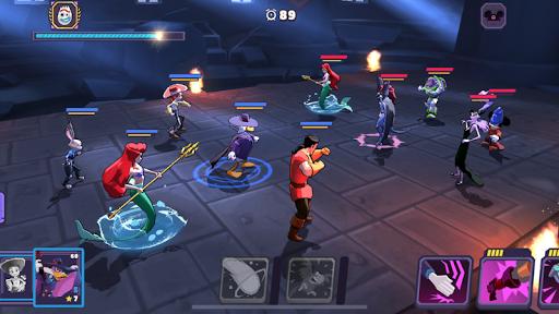 Disney Sorcerer's Arena [Mod] Apk - Đấu trường phù thủy
