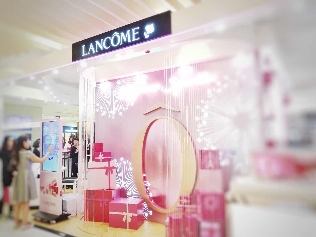 迎接聖誕節的來臨 ~ Lancôme Happiness Sparkles瑰麗節日推廣會 ~為聖誕節做足準備 ...