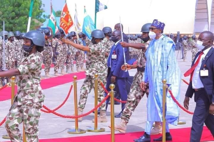 President Buhari's Visit To Maiduguri In Pictures