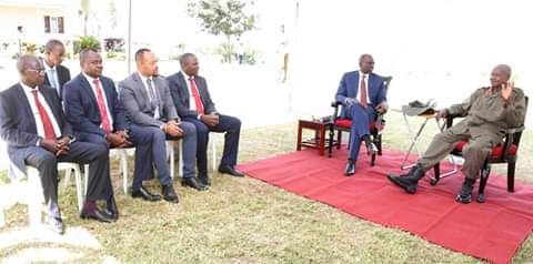 Ruto in Uganda PHOTO | BMS